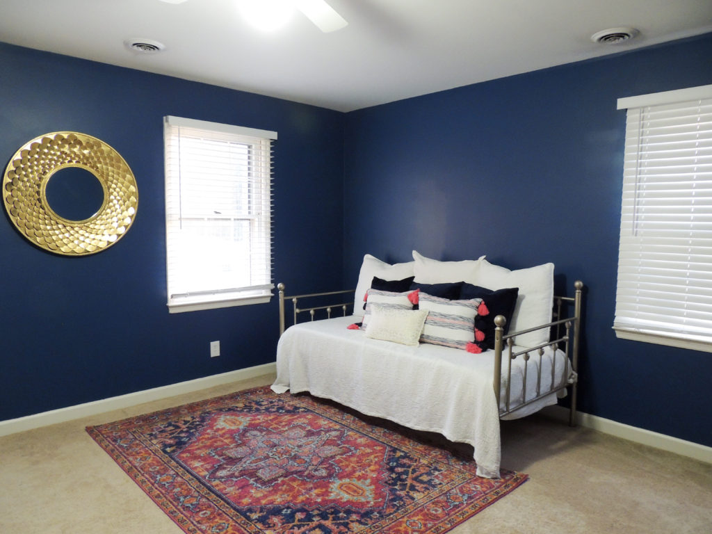 Diy Painted Gold Bed Frame Kristie In Carolina